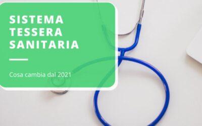 I NUOVI ADEMPIMENTI PER IL 2021 DEL SISTEMA TESSERA SANITARIA