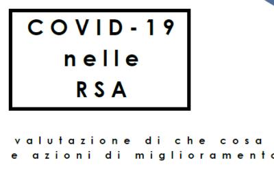 """Webinar """"Covid-19 nella RSA"""""""